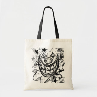 Evil Clown Budget Tote Bag