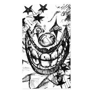 Evil Clown Business Card