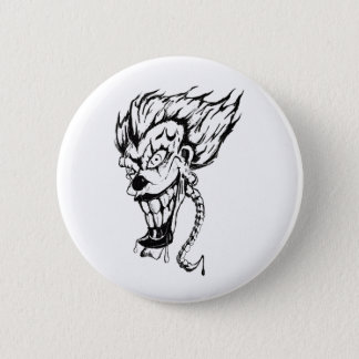 Evil clown button (all sizes)