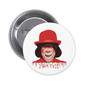 Evil Clown Button