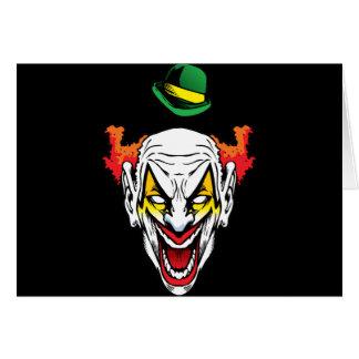 Evil Clown Card