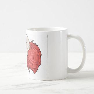 Evil clown design mug