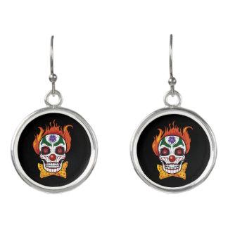 Evil Clown Earrings - Skull Jewelry Fashion