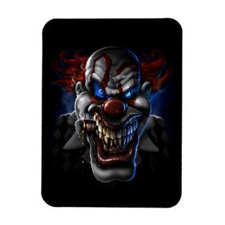 Evil Clown Face Magnet