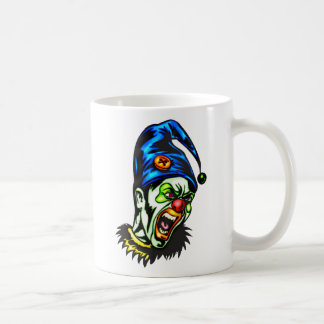 Evil Clown From Hell Coffee Mugs