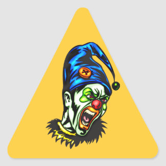 Evil Clown From Hell Stickers