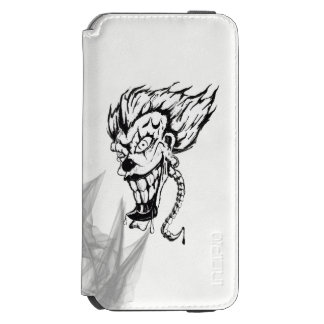 Evil clown Incipio Watson™ iPhone Wallet Case Incipio Watson™ iPhone 6 Wallet Case