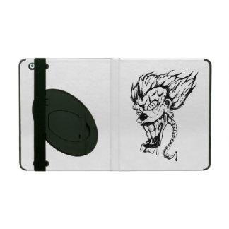 Evil clown iPad Case with Kickstand