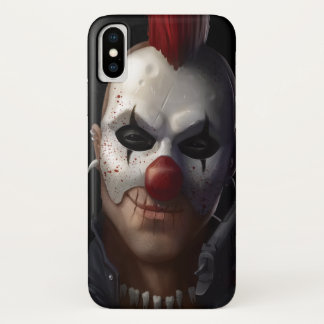 Evil clown iPhone x case