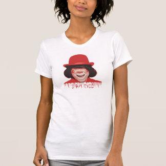 Evil Clown Ladies Petite T-Shirt