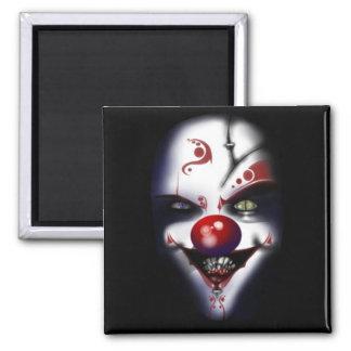 Evil Clown Fridge Magnet