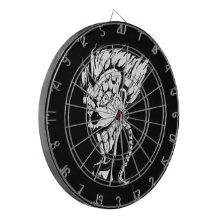 Evil clown Metal Cage Dartboard