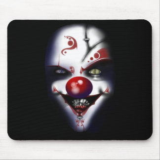 Evil Clown Mouse Pad