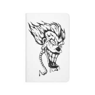 Evil clown pocket journal