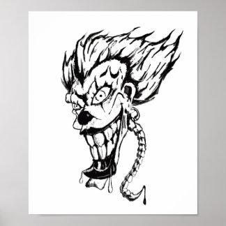 Evil Clown Poster