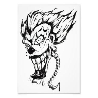 Evil clown Professional Photo Paper (Satin)