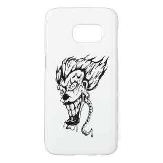 Evil clown Samsung Galaxy Barely There Phone Case