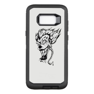 Evil clown Samsung S8+ phone case