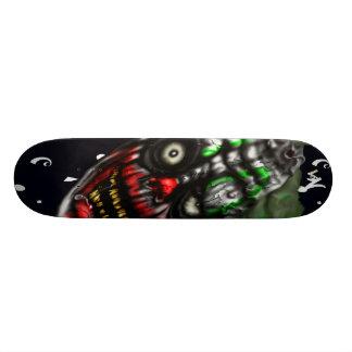 Evil Clown Custom Skate Board