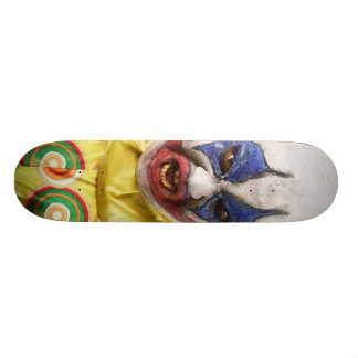 evil clown 21.3 cm mini skateboard deck