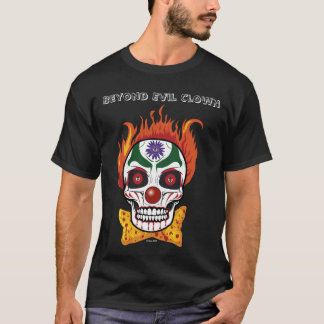 Evil Clown Skull Demon Men's Tshirt