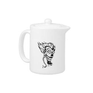 Evil Clown teapot