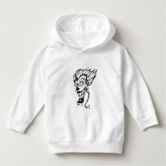 Evil clown Toddler Pullover Hoodie