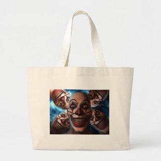 Evil Clowns Canvas Bags