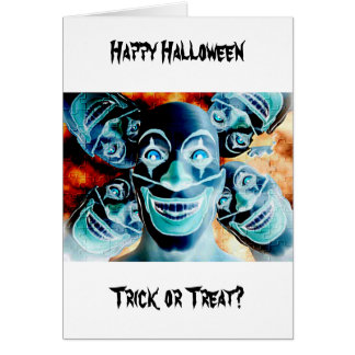 Evil Clowns Card