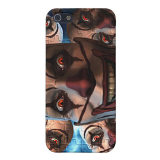 Evil Clowns Case For iPhone 5/5S