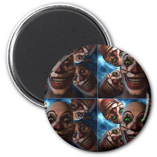 Evil Clowns Magnet