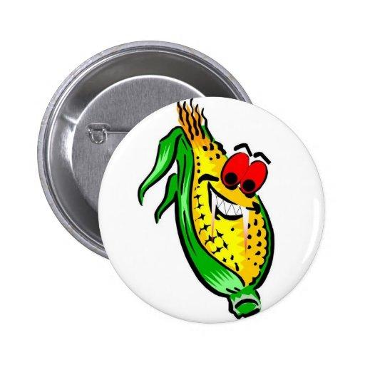 Evil Corn Button