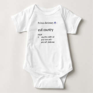 Evil country baby bodysuit