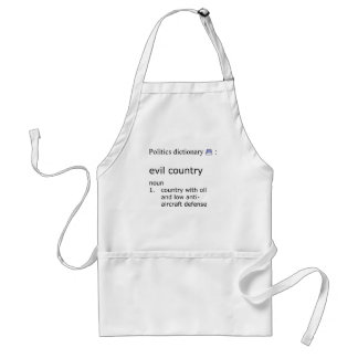 Evil country standard apron