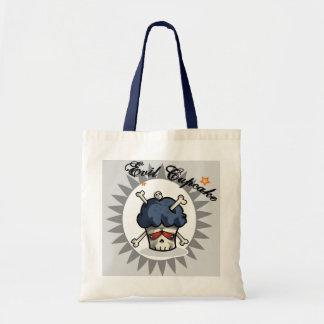 Evil Cupcake -Bones- Budget Tote Bag