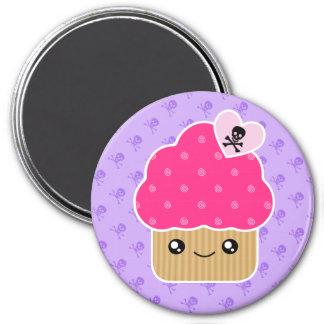 Evil Cute Kawaii Cupcake Of Death Magnet