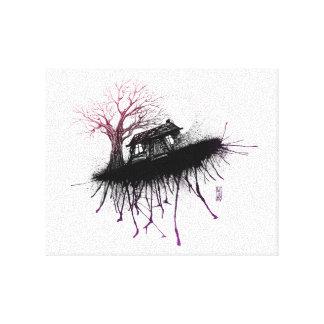 Evil Dead Cabin by Lutz A.D. Canvas Print
