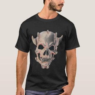 Evil Demon Skull Mask T-shirt