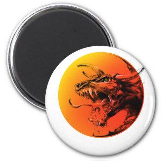 Evil dragon magnet