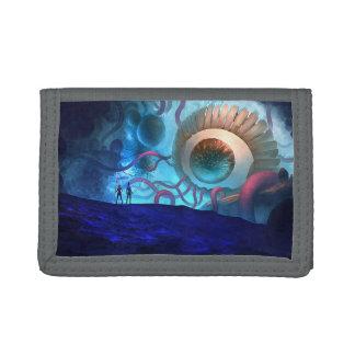 Evil Eye 2 TriFold Nylon Wallet