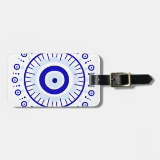 Evil Eye Burst Luggage Tag