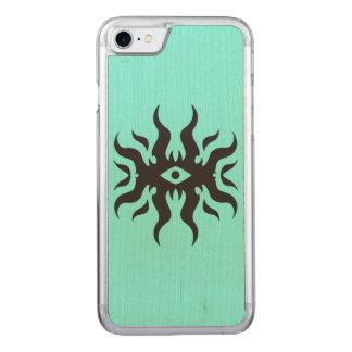 Evil Eye Carved iPhone 8/7 Case