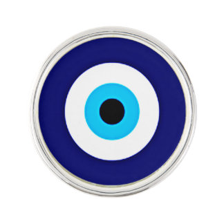 Evil Eye Charm Lapel Pin