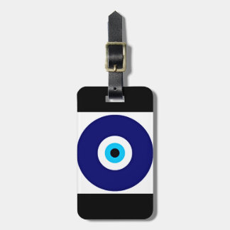 Evil Eye Charm Luggage Tag