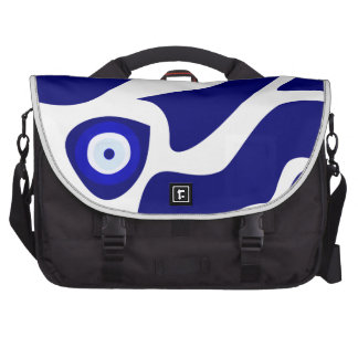 Evil Eye Lava Pattern Laptop Shoulder Bag