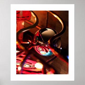Evil Eye pinball poster