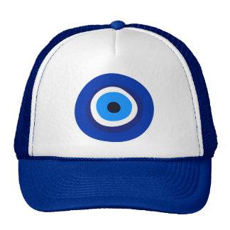 evil eye symbol greek turkish arab talisman cap