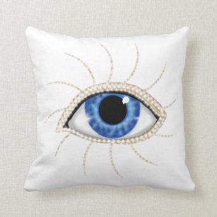 Evil Eye Decorative Throw Cushions Zazzle Au