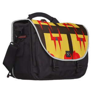 Evil Face Commuter Bag