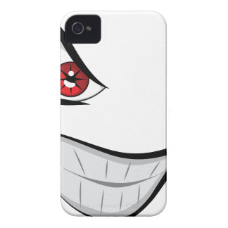 Evil Face with Red Eyes iPhone 4 Covers